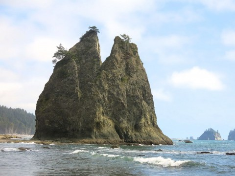 5 Split Rock, Rialto Beach